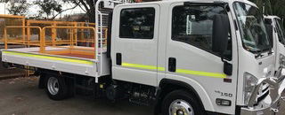 mine equipped vehicles hire WA