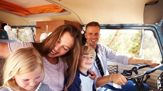 Gold Coast minibus hire for families