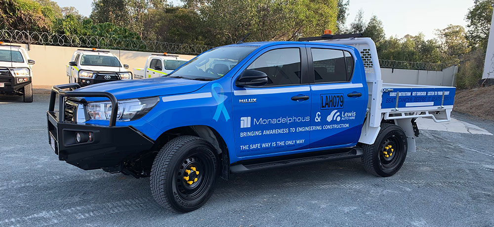 cancer awareness mine spec ute - What Makes A Vehicle Mine Spec?
