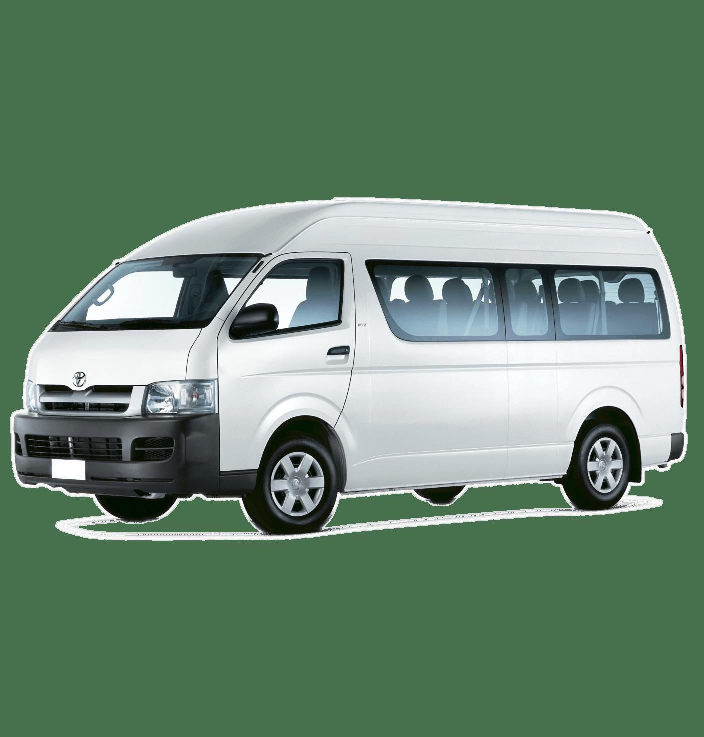Toyota 12 Seat Mini Bus Hire Gold Coast Bring The